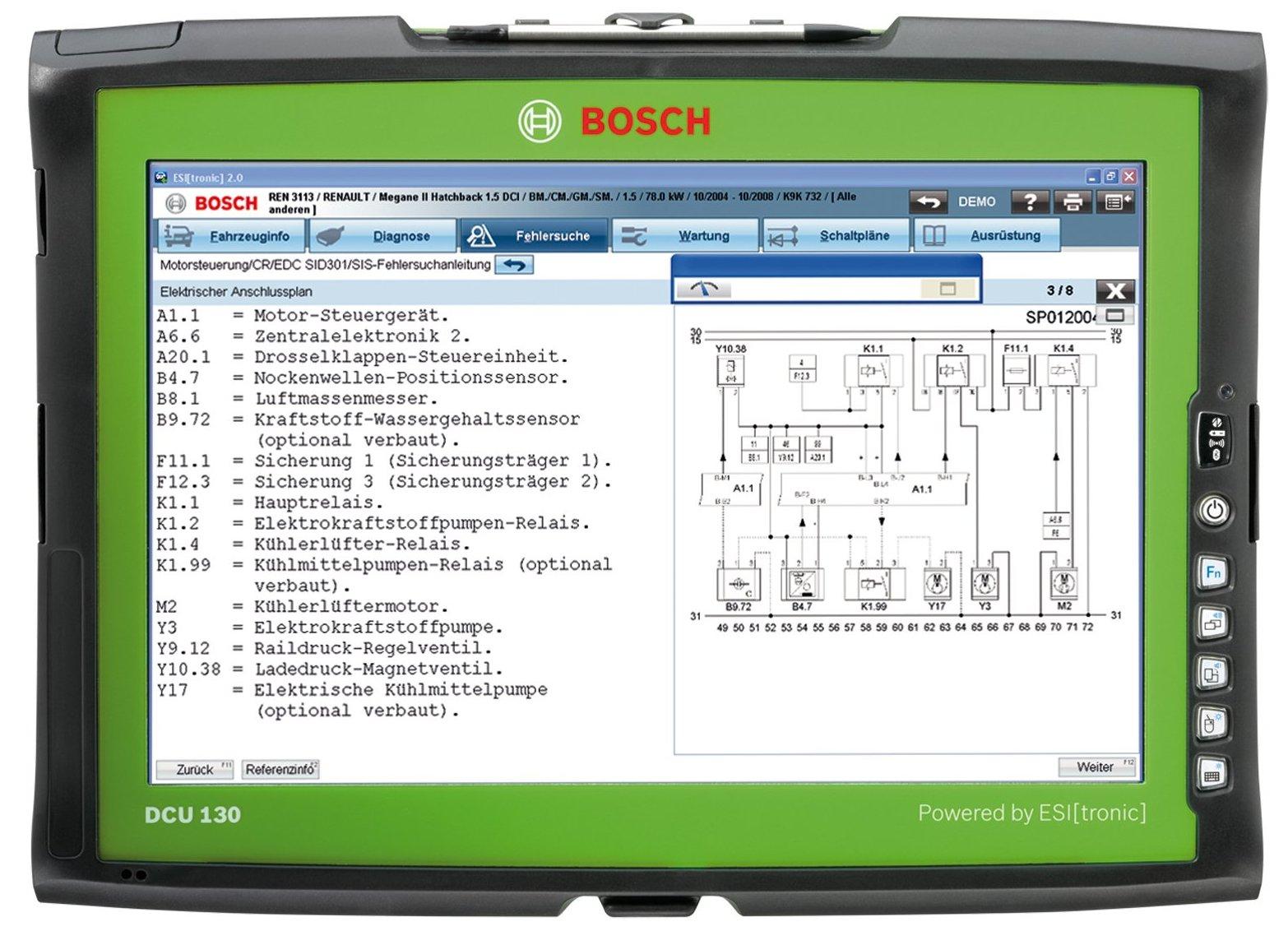 Bosch DCU 130