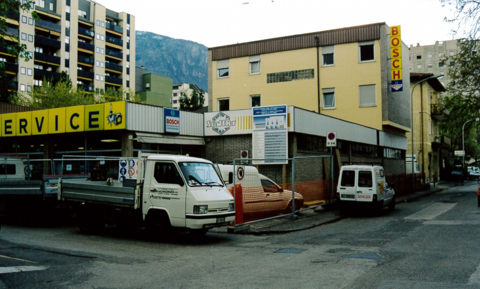 Umbau 1998